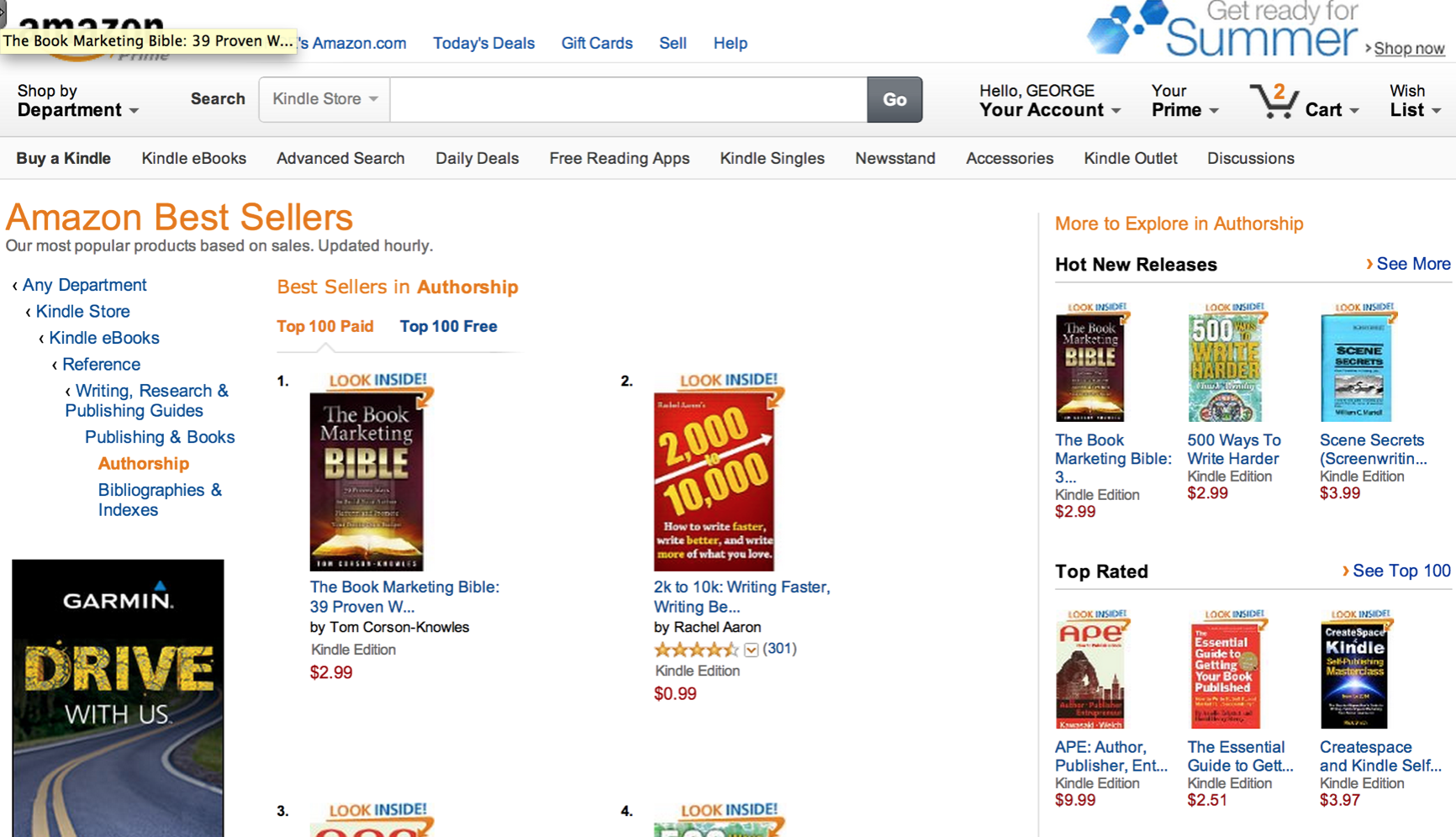 Book Marketing Bible #1 Amazon Bestseller